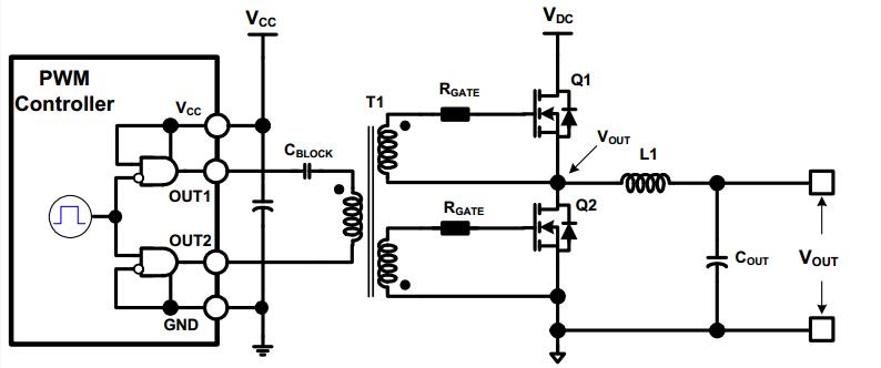 Pulse Transformer Gate Driver