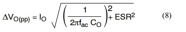 PFC 8. Formula